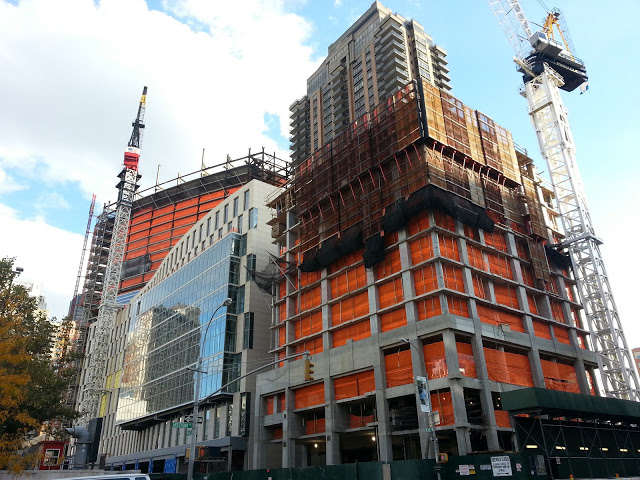Fordham Law School/Dormitory and 160 West 62nd Street Construction
