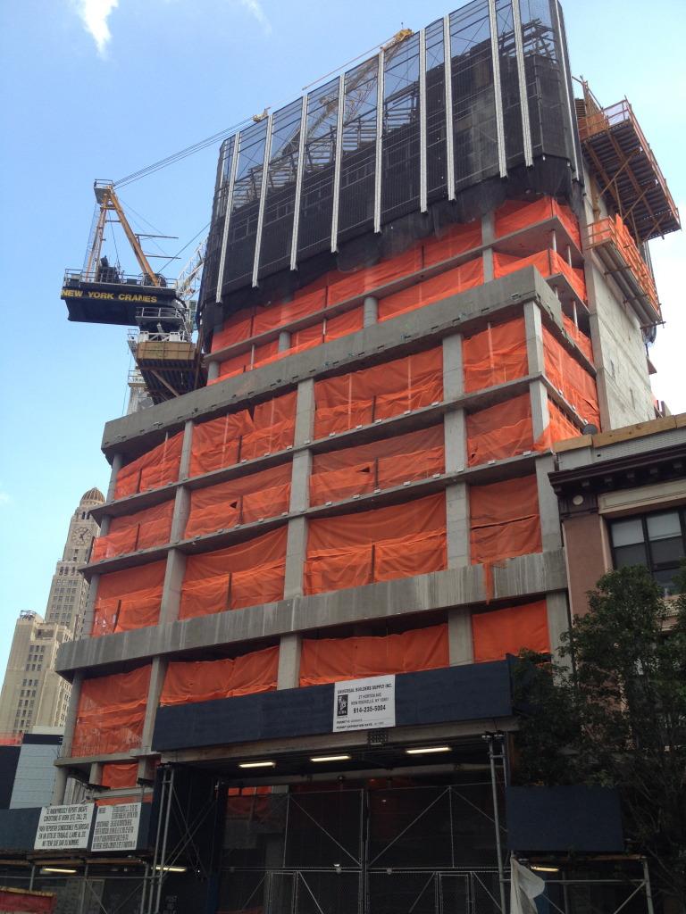 Construction Update 29 Flatbush Avenue New York Yimby