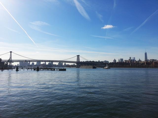 Manhattan Skyline & Williamsburg Bridge