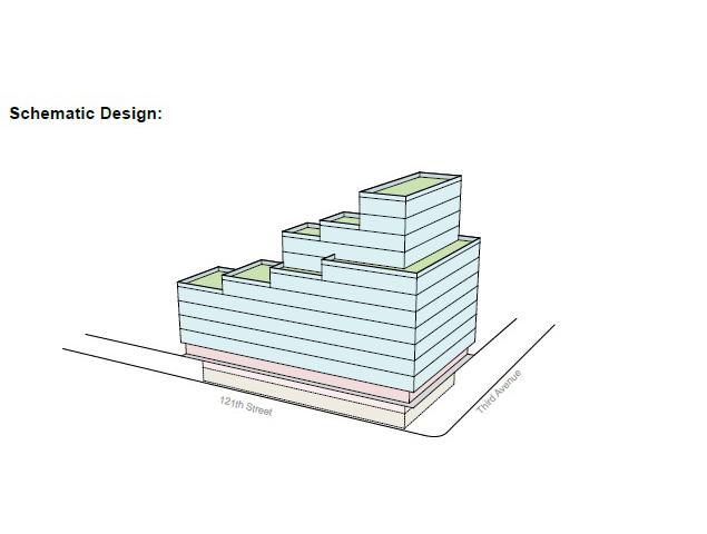 2211 Third Avenue, image via HAP Investment Developers