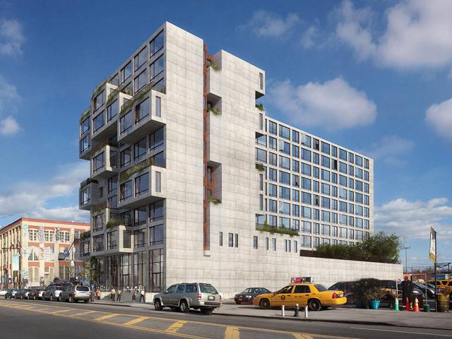 22-22 Jackson Avenue, rendering by ODA