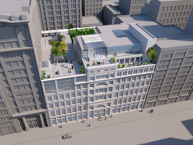 28-40 West 23rd Street, concept rendering by George Boyle Architect
