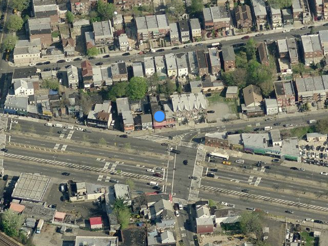 70-09 45th Street, overhead shot from Bing Maps