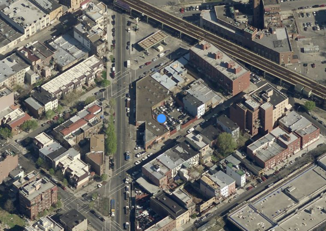 120 Union Avenue, image from Bing Maps