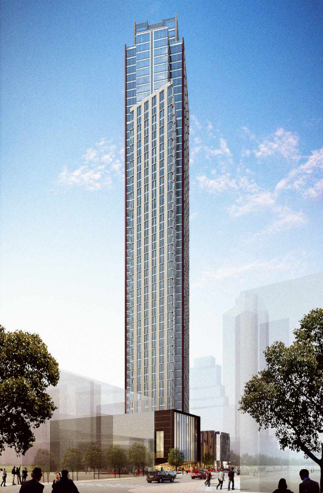 250 Ashland Place, rendering by FXFowle