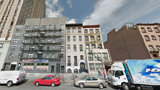 251 West 14th Street (center), image from Google Street View