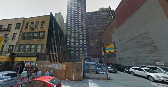 308 West 40th Street, image from Google Street View
