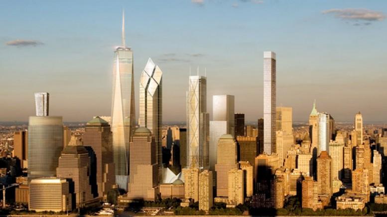 Future Lower Manhattan skyline