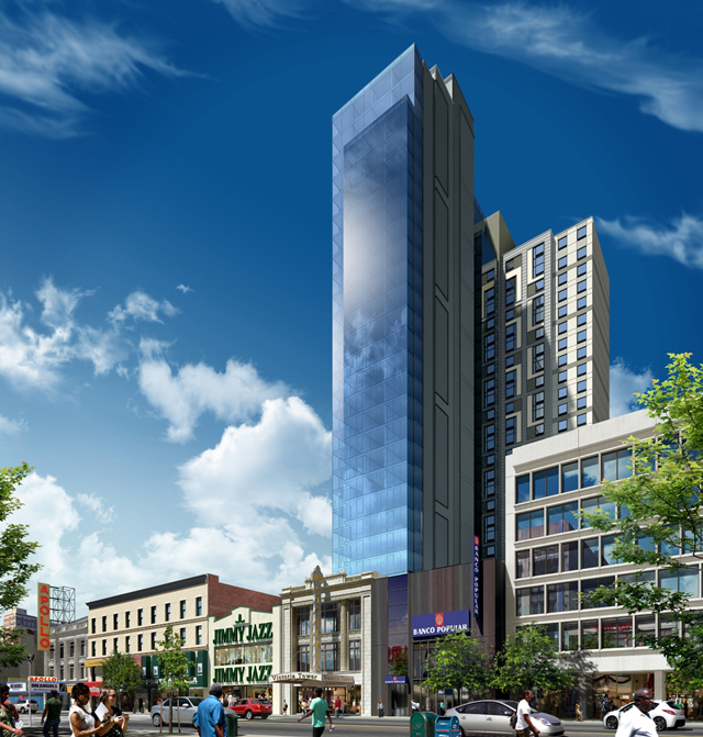 Victoria Theater Redevelopment, 233 West 125th Street, via Aufgang Architects