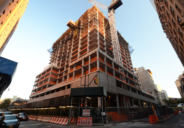 Construction update avalon willoughby west 100 for 100 overlook terrace new york ny