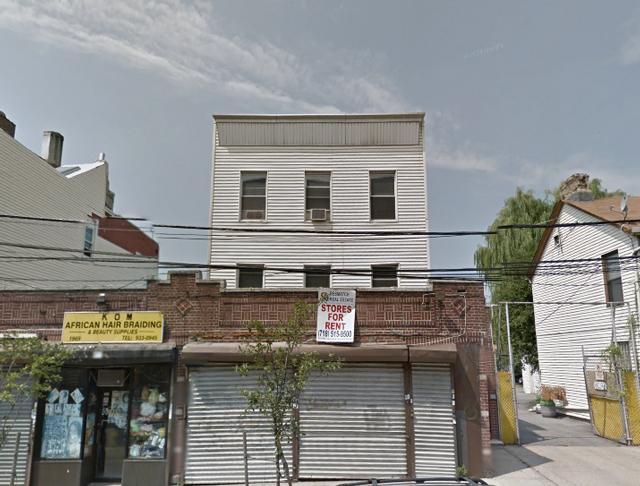 The former 1969 Washington Avenue, pre-demolition, via Google Maps