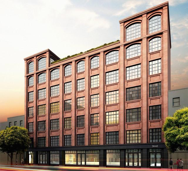 50 Clinton Street, rendering via DNA Capital