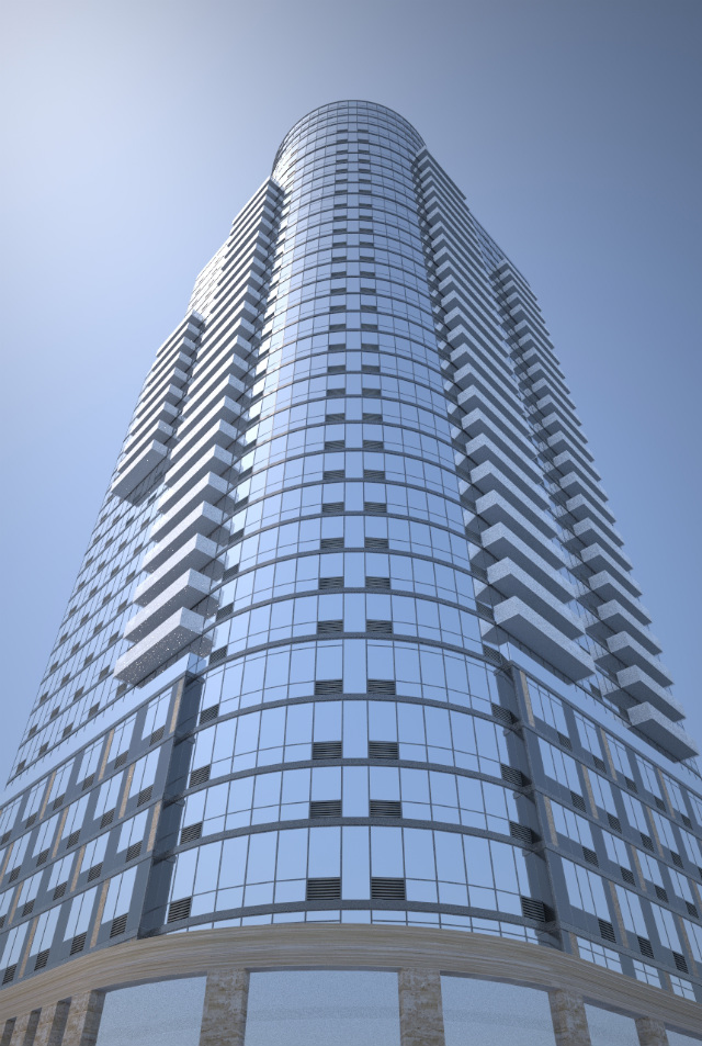 86 Fleet Place, rendering from the Red Apple Group
