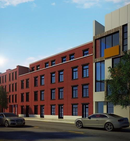 127-131 South First Street, rendering from Investmates