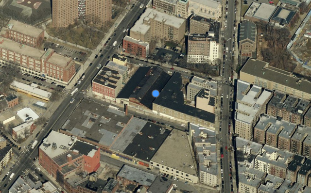 487 West 129th Street, image from Bing Maps