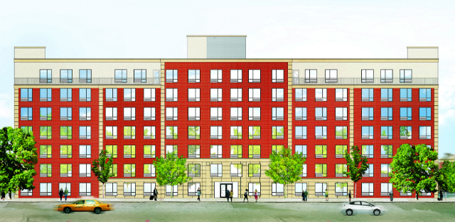 Pelham Park Manor, rendering from Stagg Group