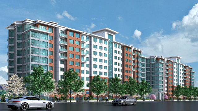 River Tides at Greystone, rendering from Ginsburg Development Companies