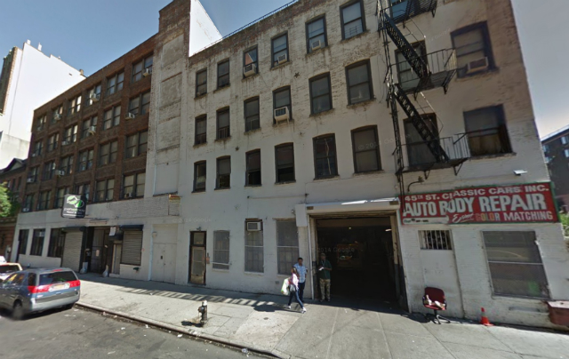 517 West 45th Street, image from Google Maps