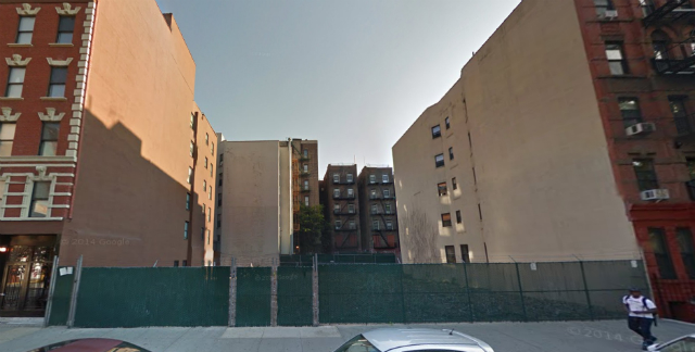 109 East 115th Street (1627 Park Avenue to the left), image from Google Maps