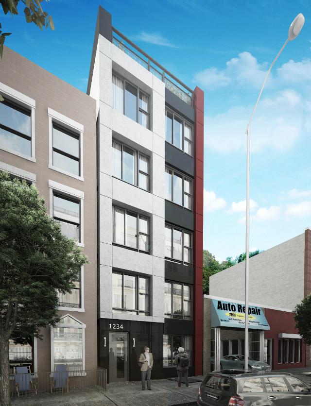1234 Bedford Avenue, rendering by StudiosC
