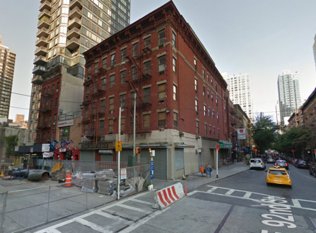 1766-1768 Second Avenue, image from Google Maps