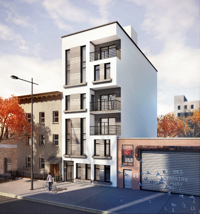 79 Clay Street, rendering from Infocus