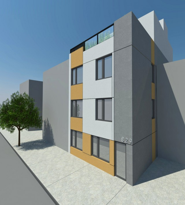 829 Willoughby Avenue, rendering by StudiosC