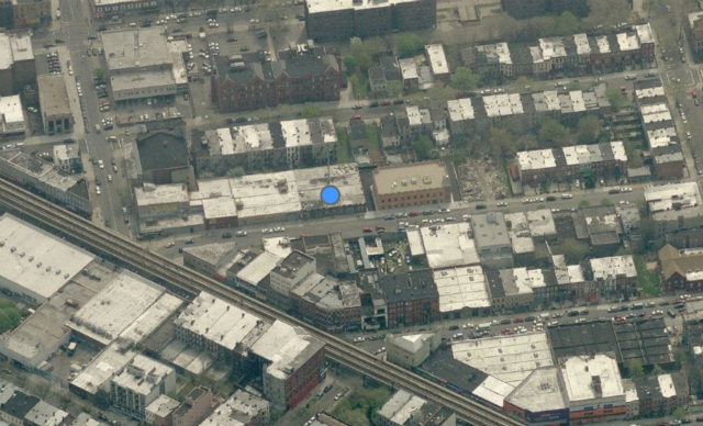 834 Lexington Avenue, image from Bing Maps