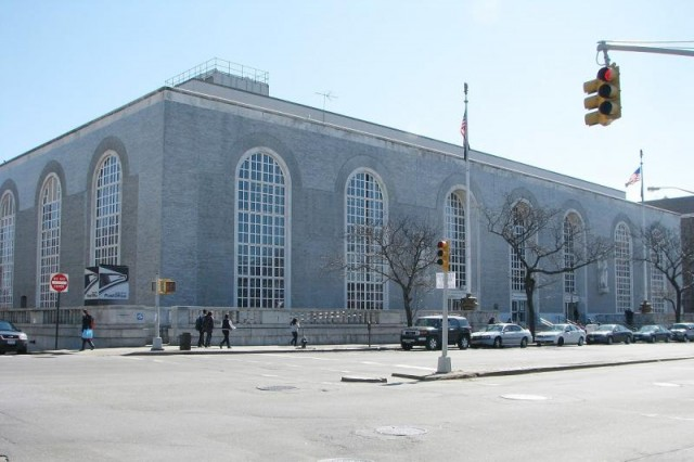 Bronx General Post Office, image from The Living New Deal