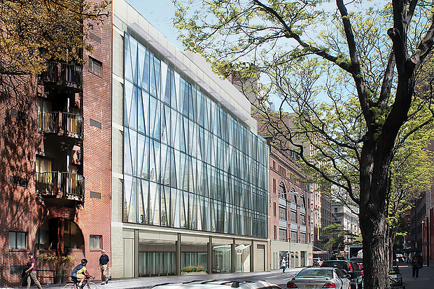 Laboratory Medicine Building at 327 East 64th Street, rendering by Perkins+Will