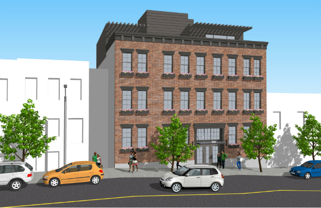 324 20th Street, rendering by Marin Architects