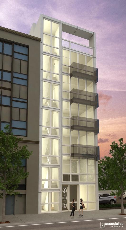 508 Waverly Avenue, rendering by DJ Associates