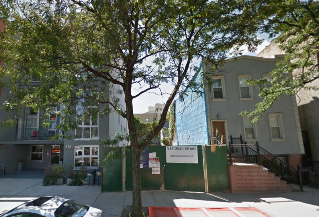 814 Dean Street, image from Google Maps