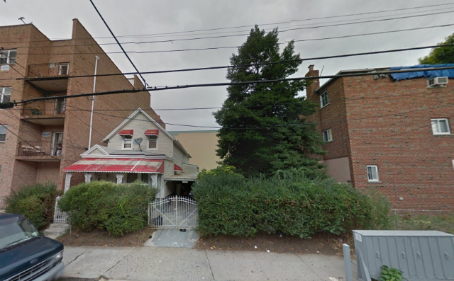 871 East 217th Street, image from Google Maps