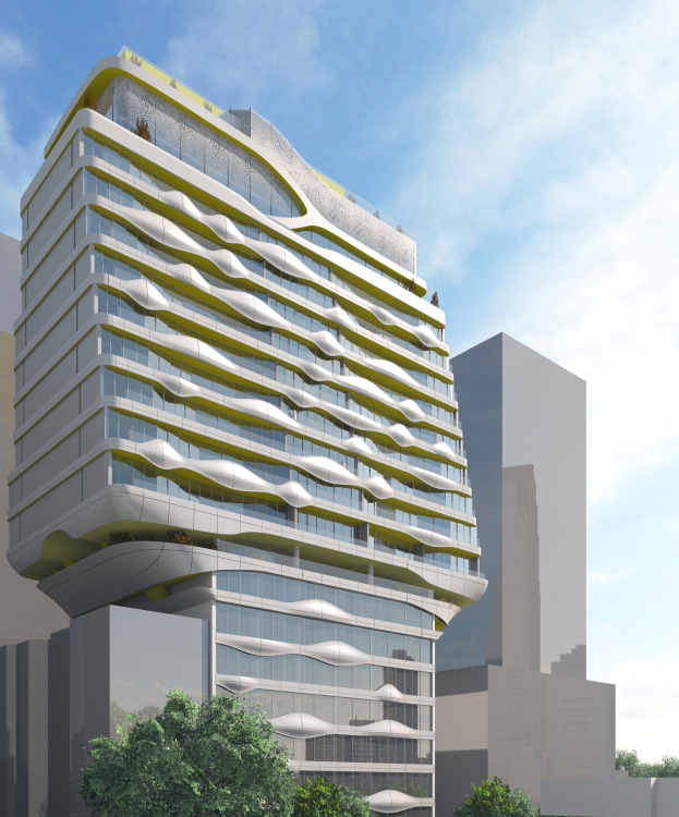 Potential new design for HAP 8, at 215 West 28th Street