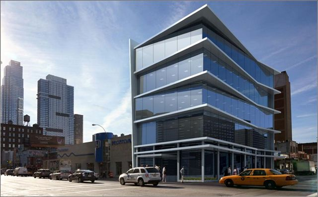 639 Eleventh Avenue, rendering from Massey Knakal