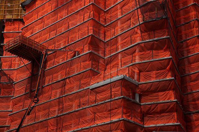 400 Park Avenue South under construction, photo by Jeffrey Zeldman