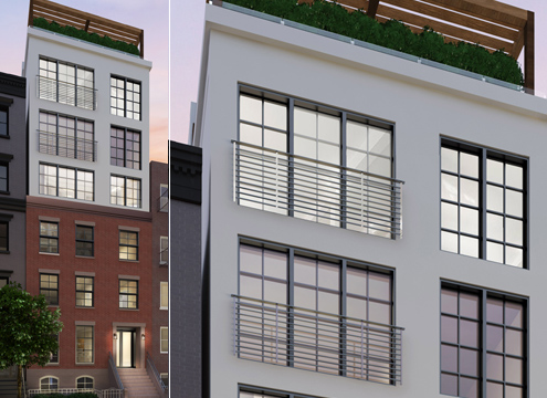 324 East Fourth Street, image from Mortar Architecture + Development