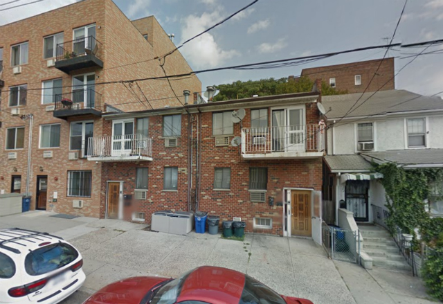 67-17 & 67-19 Austin Street, pre-demolition, image from Google Maps