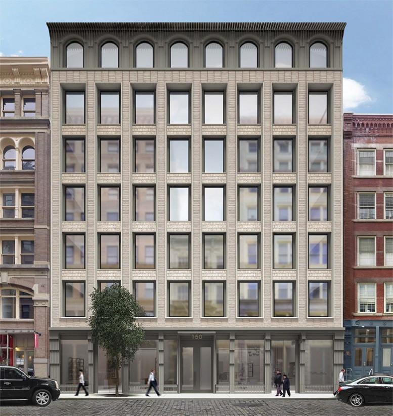 150 Wooster Street, rendering by HTO Architect
