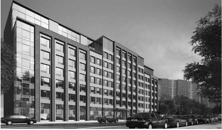 325 Lafayette Avenue, Rendering via Slate Property Group