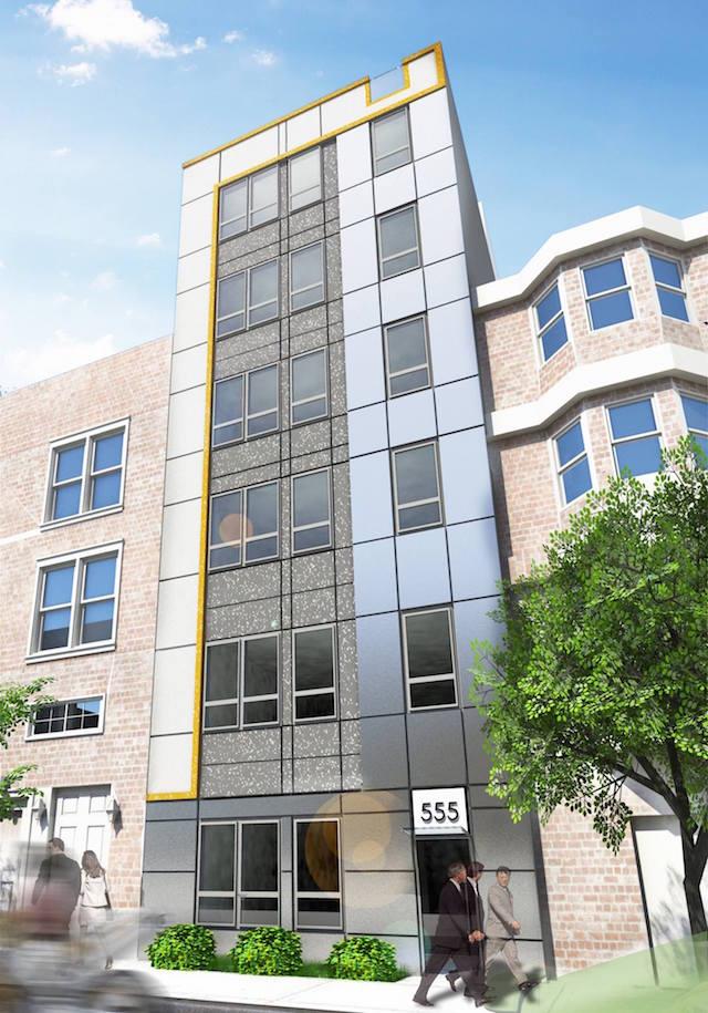 555 grand street williamsburg rendering