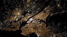 NYC from space