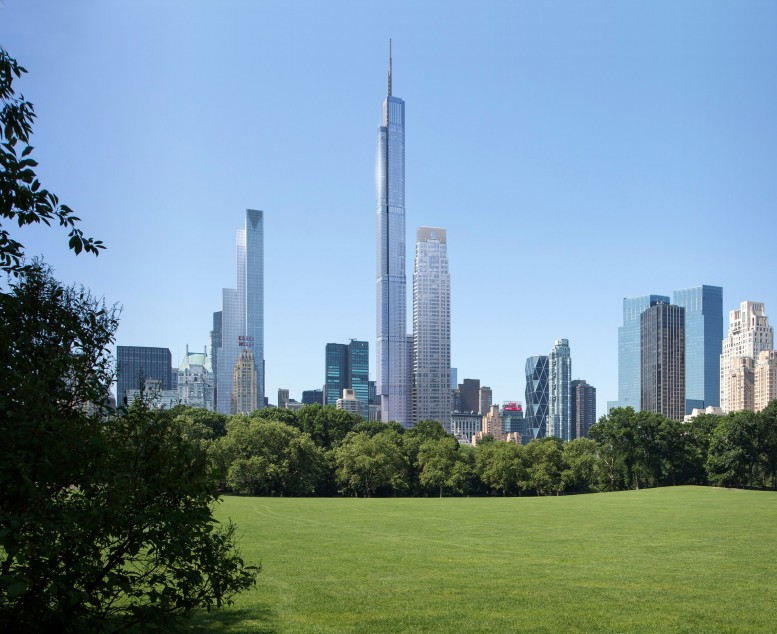 Nordstrom Tower/217 West 57th Street, image from Extell