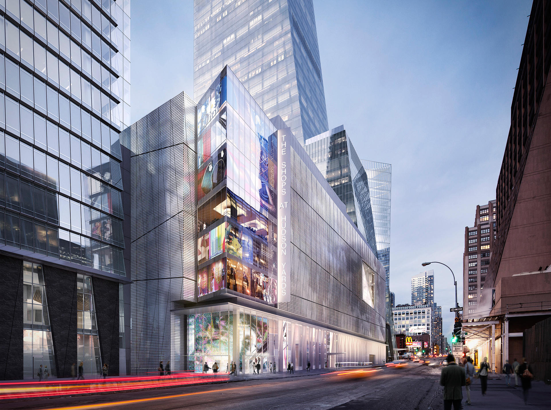 Related S 30 Hudson Yards Amp Retail Base Go Vertical Far