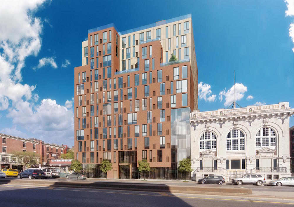 225 Fourth Avenue, rendering by Paperfarm