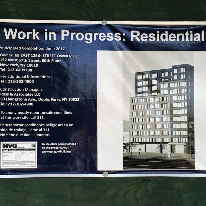 69 East 125th Street