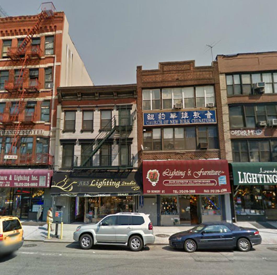 139 Bowery