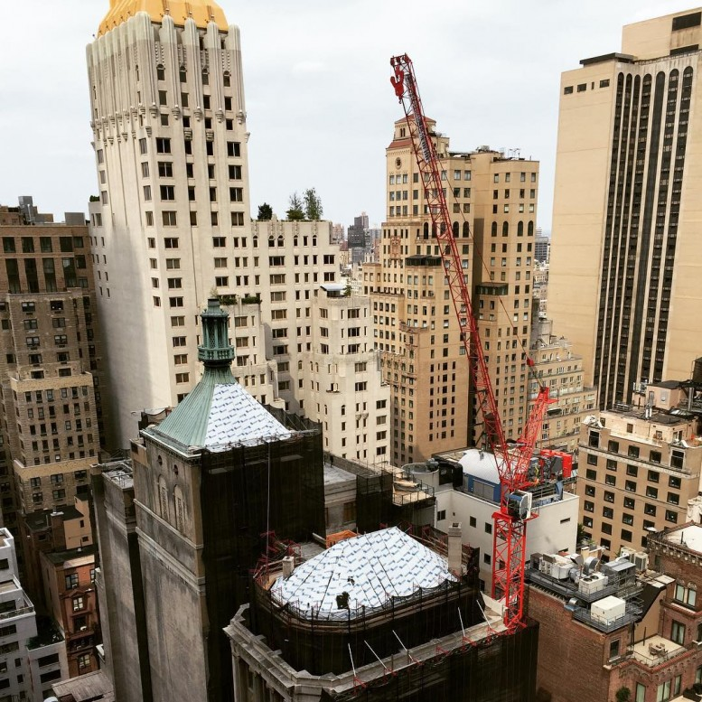 Tallest Freestanding Tower Crane in NYC History Up at 111 ...