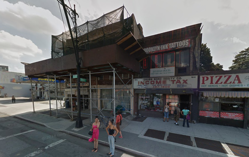 1516 Fulton Street, image via Google Maps